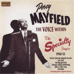 Percy Mayfield Voice Within The Specialty Singles 1950 1955 CD