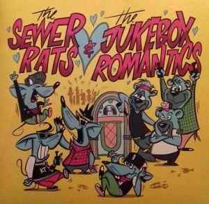 "Sewer Rats & Jukebox Romantics 7"" EP (vinyl)"
