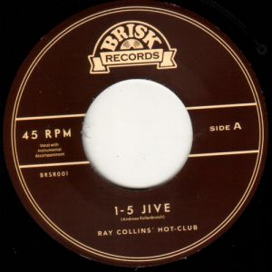 Ray Collins' Hot Club 1-5 Jive vinyl single