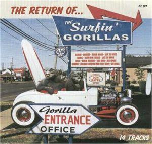 Return Of The Surfin' Gorillas CD