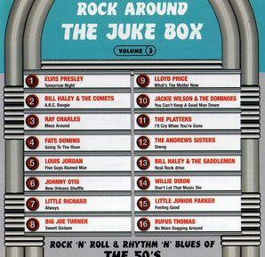 Rock Around The Jukebox volume 3 CD