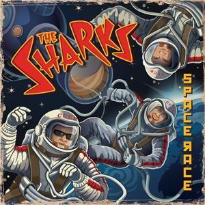 """Sharks Space Race 10"""" Vinyl EP"""