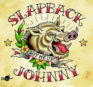 Slapback Johnny Hit Me Up LP vinyl RBRCD5939 4260072722392