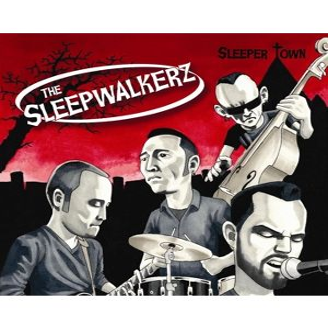 Sleepwalkerz Sleeper Town CD