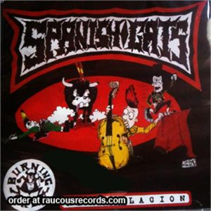 Spanish Cats CD rockabilly and psychobilly compilation