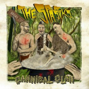 "Spastiks Cannibal Clan 7"" EP vinyl"