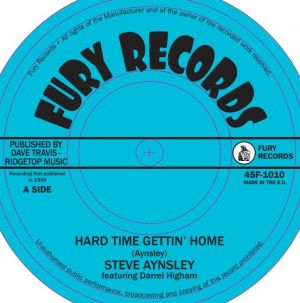 "Steve Aynsley Darrel Higham Hard Time Gettin' Home 7"" Single vinyl"
