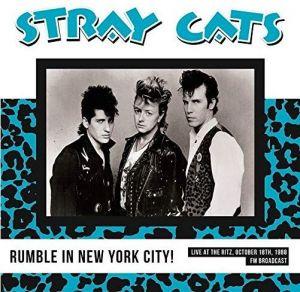 Stray Cats Rumble In New York City LP vinyl