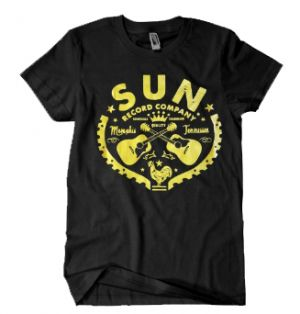 Sun Records Crossed Guitars Rockabilly T-Shirt