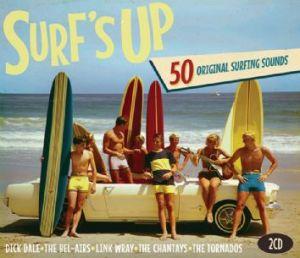 Surf's Up 2CD 50 Original Surfing Sounds 698458758422