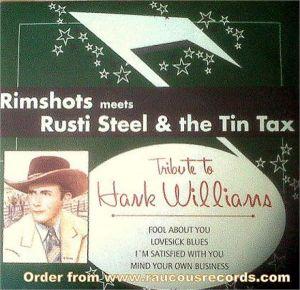 """Tribute To Hank Williams 7"""" EP (vinyl)"""