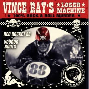 "Vince Ray Red Rocket 88 7"" single"