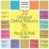 20 Original Debut Albums by 20 Rock 'n' Roll Stars 10-CD Boxed Set