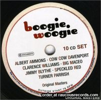 Boogie Woogie 10-CD Boxed Set