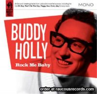 Buddy Holly Rock Me Baby CD