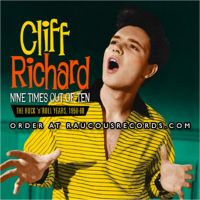 Cliff Richard Nine Times Out Of Ten The Rock 'n' Roll Years 1958-1960 2CD