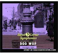 Street Corner Symphonies Volume 6 1954 CD