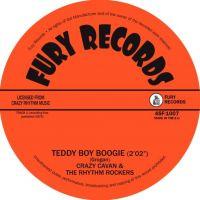 "Crazy Cavan and the Rhythm Rockers Teddy Boy Boogie 7"" Single vinyl"