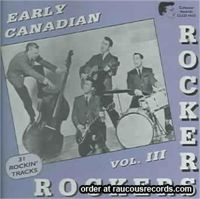 Early Canadian Rockers Volume 3 CD