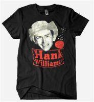 Hank Williams Recording Star T-Shirt