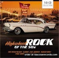 Highschool Rock Of The '50s 10-CD Boxed Set