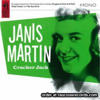 Janis Martin Crackerjack CD