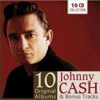 Johnny Cash 10 Original Albums and Bonus Tracks 10CD