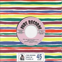 "Johnny & The Jailbirds Roll On Clickety Clack 7"" single vinyl"