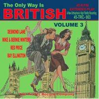 "Only Way Is British Volume 3 7"" EP vinyl"