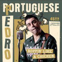"""Portuguese Pedro Boppin' Like A Chicken 7"""" single vinyl"""