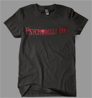 Psychobilly 666 Black T-Shirt