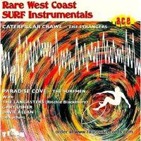 Rare West Coast Surf Instrumentals CD