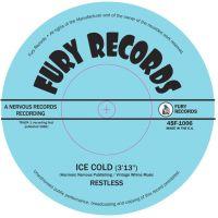 "Restless Ice Cold Long Black Shiny Car 7"" Single vinyl"