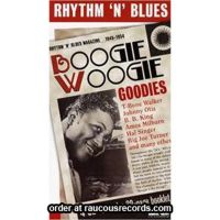 Rhythm 'n' Blues Boogie Woogie Goodies 4CD boxed set