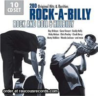 Rock-A-Billy Rock And Roll And Hillbilly 10-CD