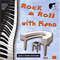 Rock 'n' Roll With Piano Vol 8 CD
