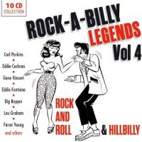 Rockabilly Legends Volume 4 Rock 'n' Roll and Hillbilly 10CD boxed set