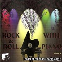 Rock & Roll With Piano Volume 16 CD