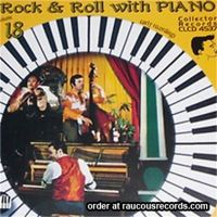 Rock & Roll With Piano 18 CD