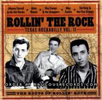 Rollin' The Rock Texas Rockabilly Volume 2 CD