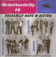 """Schnitzelbilly #1 7"""" EP vinyl"""