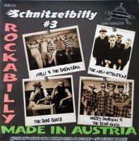 """Schnitzelbilly #3 7"""" EP vinyl"""