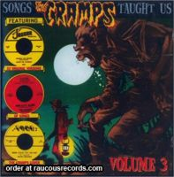 Songs The Cramps Taught Us Volume 3 CD