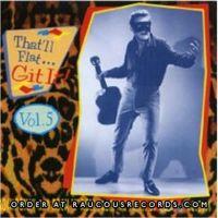 That'll Flat Git It Volume 5 (Dot Records) CD