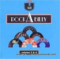 Ultra Rare Rockabilly Volume 3+4 2-CD